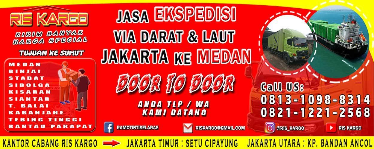 Jasa Ekspedisi Medan Ris Kargo Jasa Ekspedisi Pengiriman Barang Murah